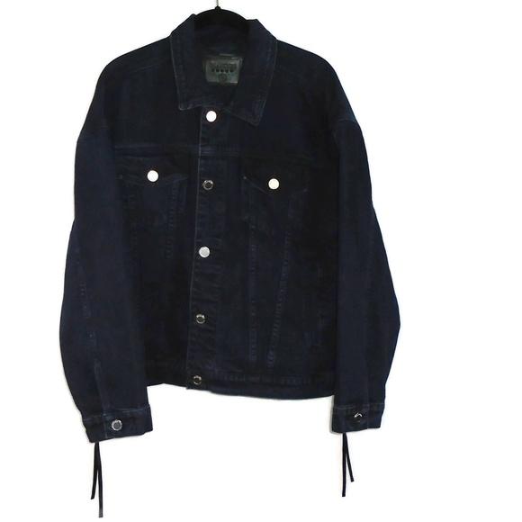 Blank NYC Jackets & Blazers - BlankNYC Denim Jean Jacket Zipper Sides Sz Small